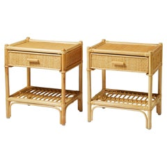 Pair of Bedside Tables, Anonymous, for DUX, Sweden, 1960's