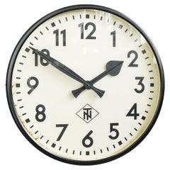 Large Wall Clock by TN Circa 1950s