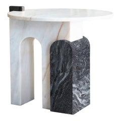 Stone Marble Side Table II Designed by Sergio Prieto
