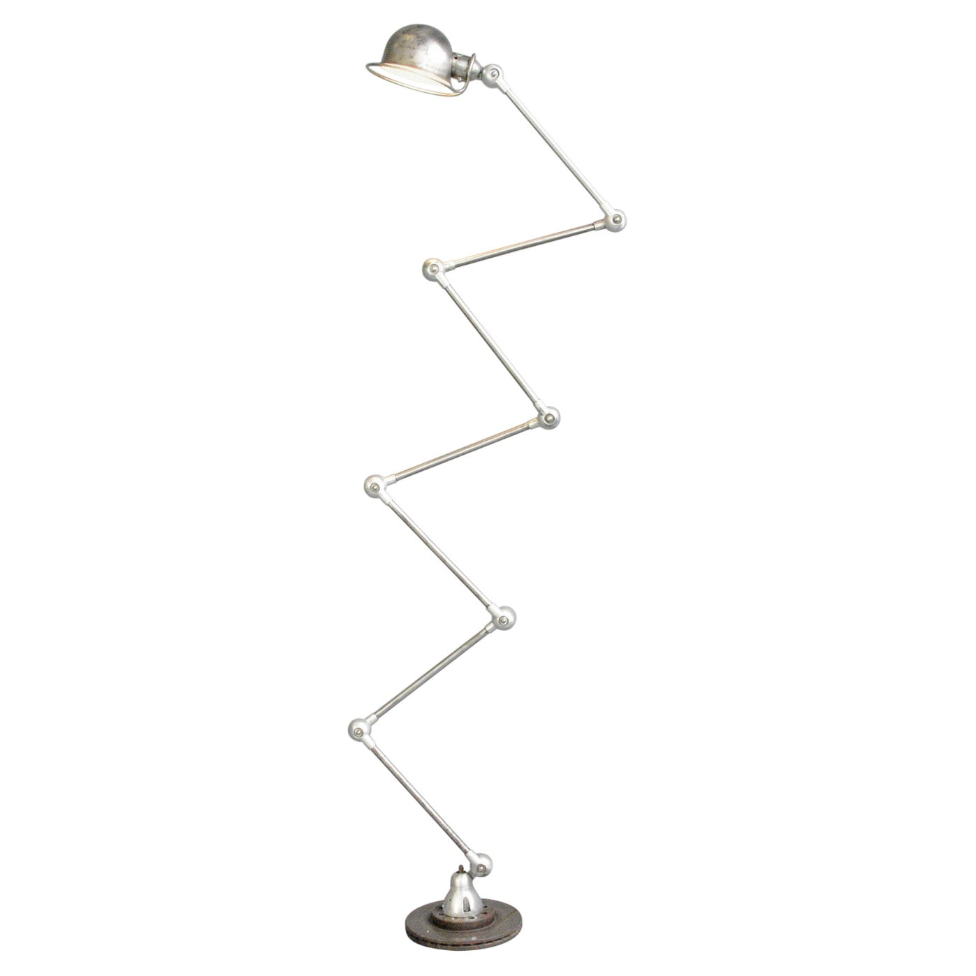 Large 7 Arm Floor Standing Jielde Lamp Circa 1950s