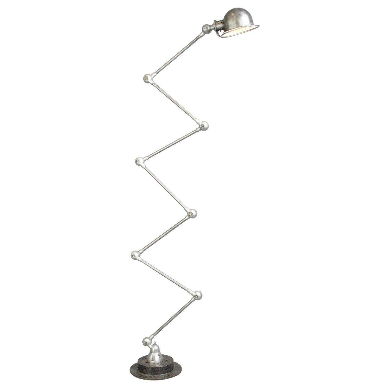 Large 7 Arm Floor Standing Jielde Lamp, Circa 1950s