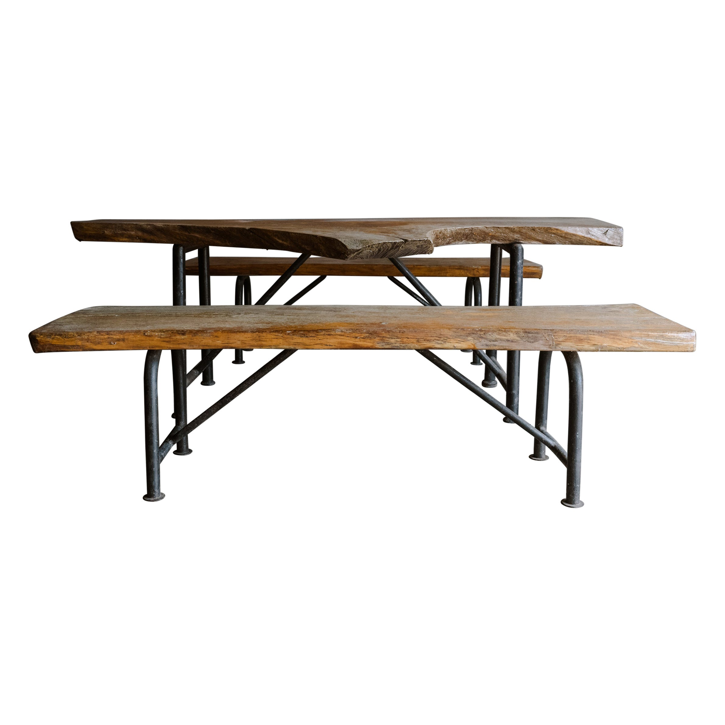Vintage Dining Table Set from Denmark, circa 1960