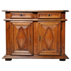 Louis XIII Sideboard Chest with Two Drawers