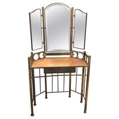 Art Nouveau Dressing Table Around 1910