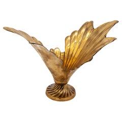 Brass Splash Vase