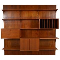 Teak Shelves