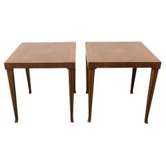Rare Pair Robsjohn-Gibbings Side Tables