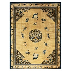 Antique Chinese, Peking Rugs