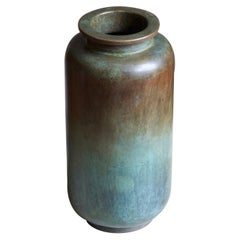 GAB Guldsmedsaktiebolaget, Vase or Vessel, Bronze, Sweden, 1930s