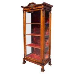 19th Century French Japonisme Cabinet Attributed to  Gabriel Viardot