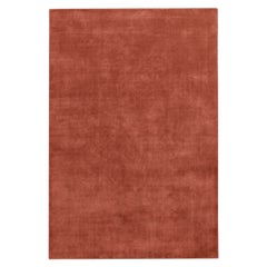 Grand Brick Red, Wool Cut Pile Rug