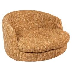 Milo Baughman Thayer Coggin Massive Swivel Lounge Chair