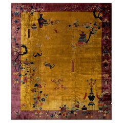 Antique Chinese, Art Deco Rugs