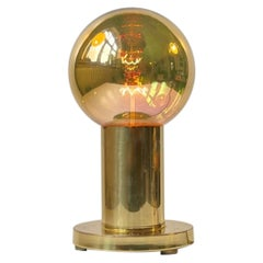 Spy Ball Table Lamp in Brass by Frimann, 1960s