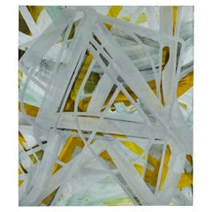 """Glossolalia #11"" Oil and Acrylic on Canvas by John Millei"