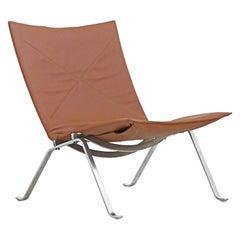 Danish PK22 Lounge Chair by Poul Kjærholm for E. Kold Christiensen