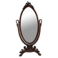 Wood Floor Mirrors and Full-Length Mirrors
