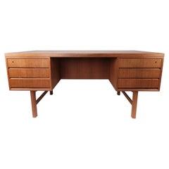 Desk in Teak Designed by Omann Junior, 1960s