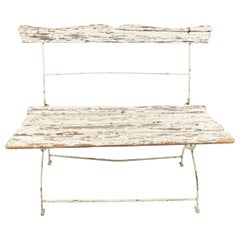 American Country Outdoor Folding Loveseat