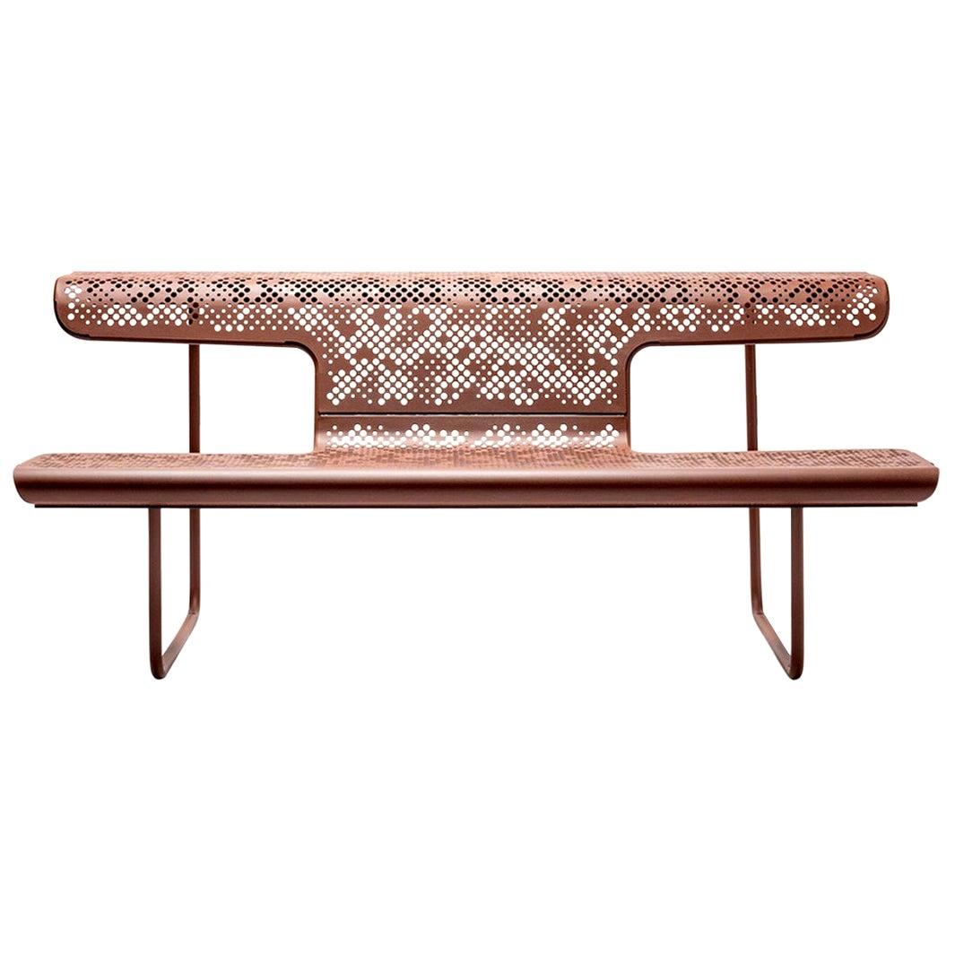 "Alfredo Häberli Contemporary Interior and Exterior 'Swiss Bench', ""The Poet"""