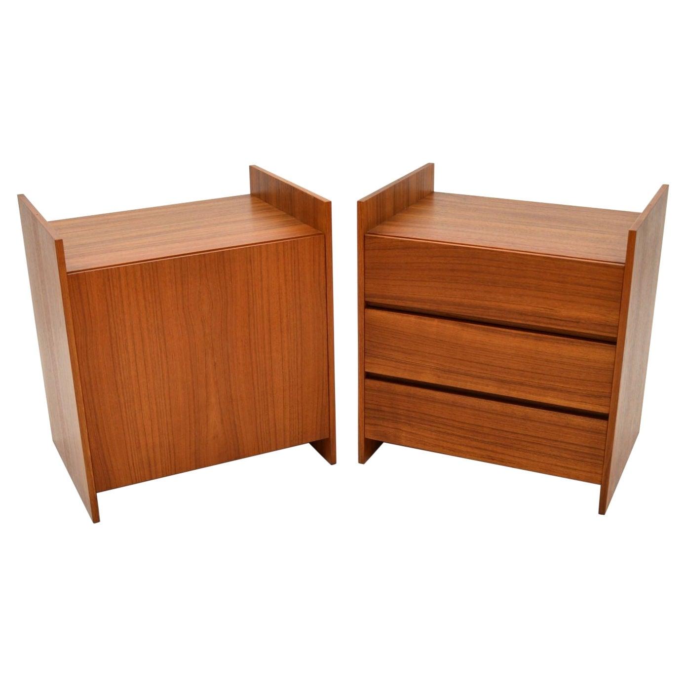 Danish Vintage Teak Cado Sideboard / Cabinet / Pair of Cabinets
