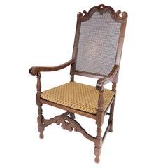 Antique Armchair of Oak, 1920s