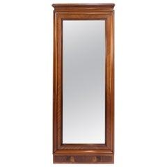 Tall Mirror of Mahogany, 1880s