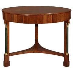 Italian 18th Century Neo-Classical Walnut Center Table