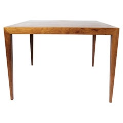 Coffee Table in Rosewood Designed by Severin Hansen for Haslev Furniture, 1960s