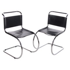 Set Vintage Design Chair Armchair Chair MR10 Ludwig Mies van der Rohe Knoll