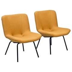 Lounge Chairs by Carl Gustaf Hiort Af Ornäs, Finland, 1950s