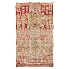 Vintage Moroccan Beni M'Guild Tribe Rug
