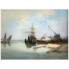 "Galien-Laloue Eugène Alias Léon Dupuy ""Marine"""