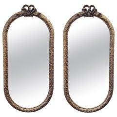 Pair of Louis Phillip Gilded Mirrors