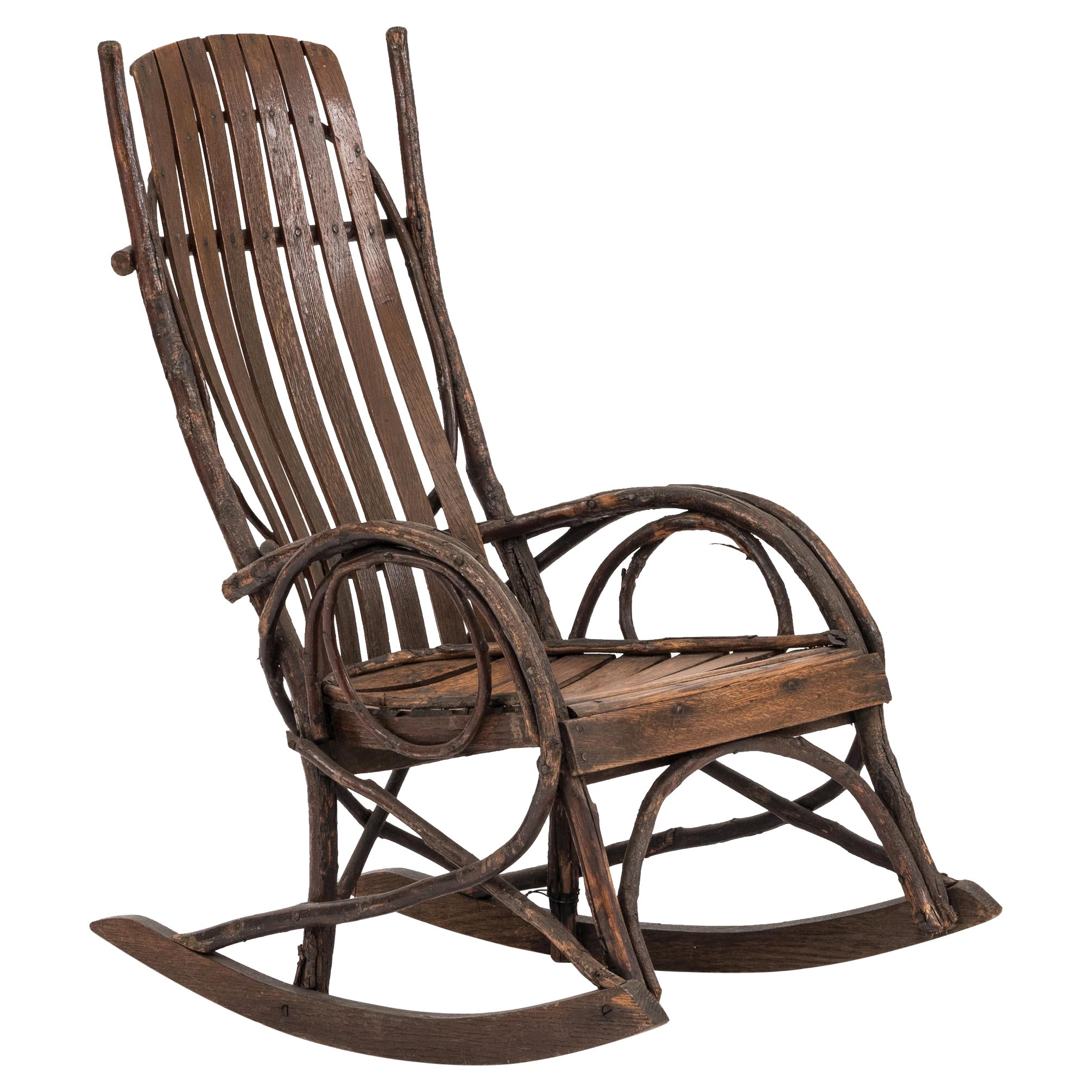 Country Willow Child's Rocker