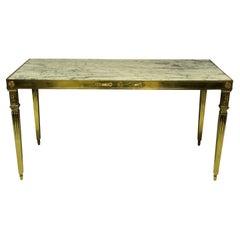 Fine Italian Gilt Bronze Neoclassical Hall Table