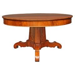 Italian 18th Century Walnut Center Table from Tuscany