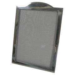 Handsome Antique English Sterling Silver Photograph / Picture Frame