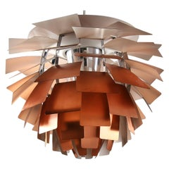 Artichoke, of Copper Designed by Poul Henningsen in 1958 and Manufactured B