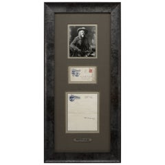 Buffalo Bill Signed Letter Collage