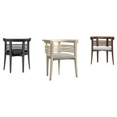 Modern by Carpanelli Dolfin Armchair in Wood