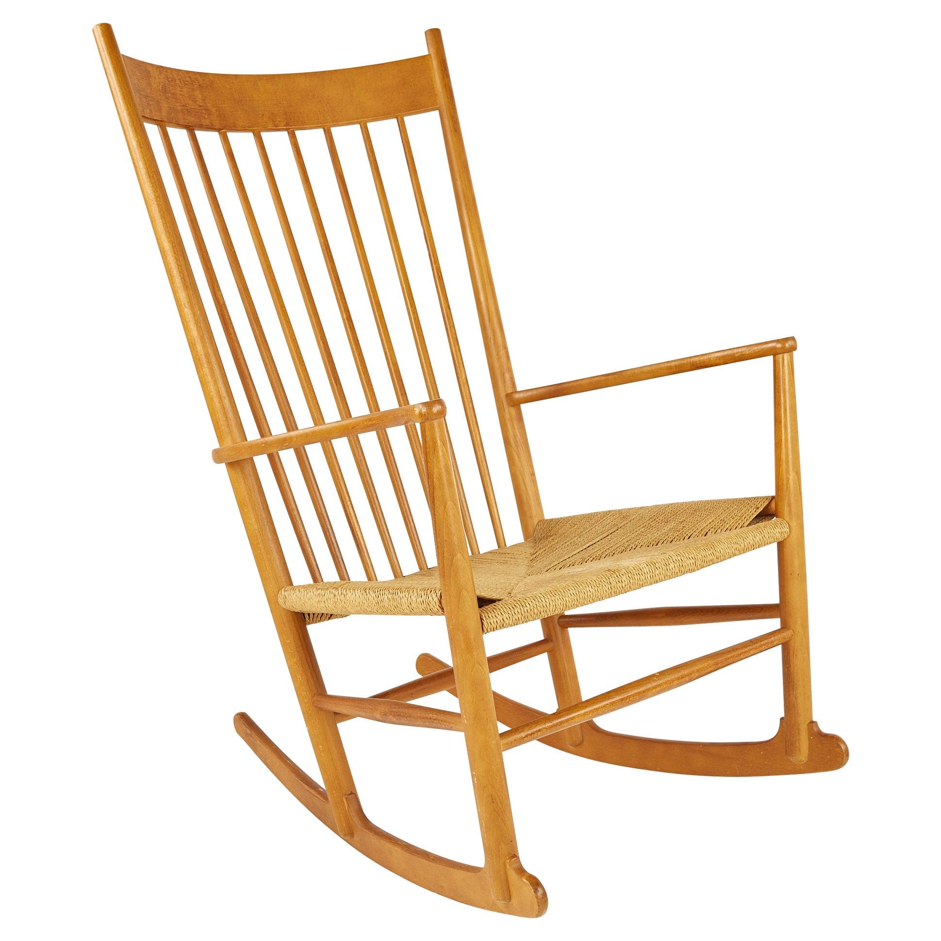 Hans Wegner Mid Century Rocking Chair