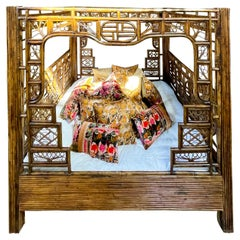Chinese Bamboo Bed