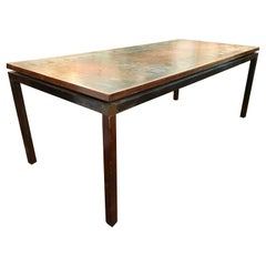 Mid Century Egyptian Revival Coffee Table