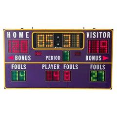 Lakers Practice Facility Basketball Scoreboard
