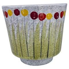 Raymor Bitossi Italian Pottery Rare Planter