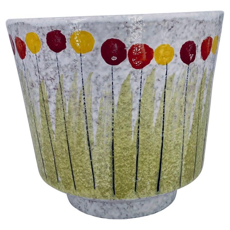 Raymor Bitossi Italian Pottery Rare Planter For Sale