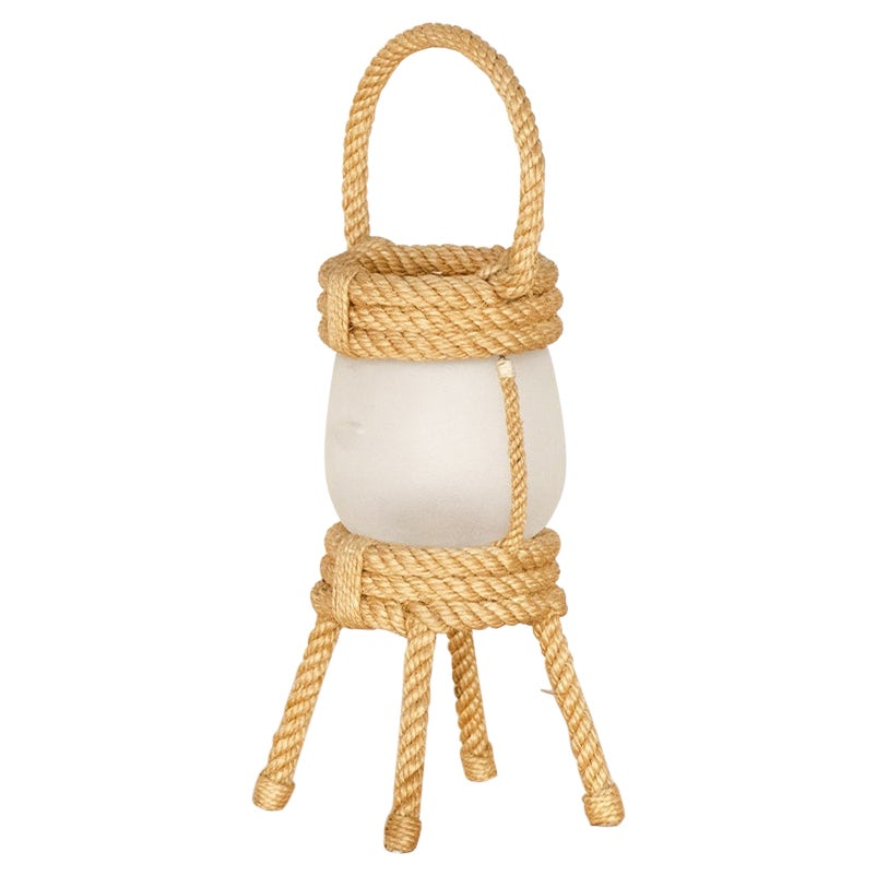 Rope Lantern Lamp by Audoux-Minet