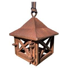 Japanese Vintage Mountain House Kusaya Lantern