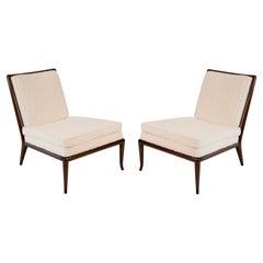 T.H. Robsjohn-Gibbings Widdicomb Slipper Chairs